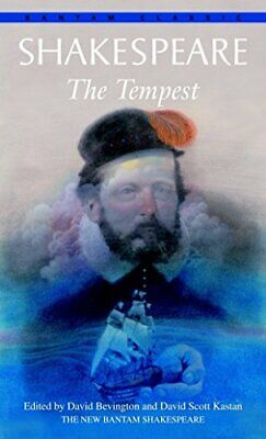 The Tempest (Bantam Classics) By Shakespeare, William Paperback Book The Cheap • 7.99£