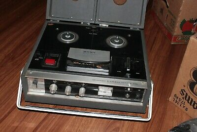 $55.99 • Buy Vintage Sony TC-230 Solid State 3 Head Stereo Center Tapecorder Reel To Reel