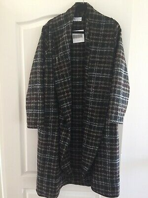 AU120 • Buy J Generation Iris Check Boucle Coat(made In Australia), New With Tag, Size 16