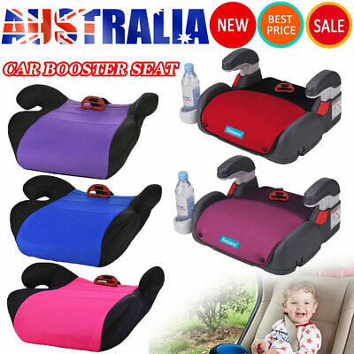 AU21.88 • Buy 4-12 Years Car Booster Seat Chair Cushion Pad For Toddler Children Kids Sturdy