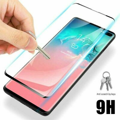 AU7.75 • Buy Tempered Glass Screen Protector For Samsung Galaxy S10 + 5G S9 Note 10 Plus S10e