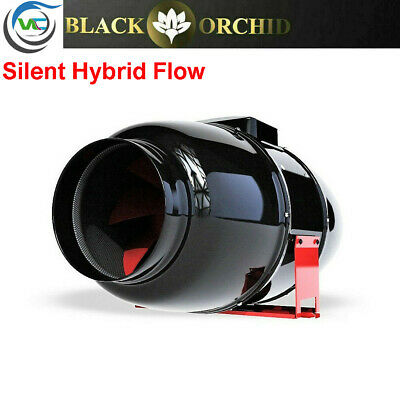 £91.23 • Buy Black Orchid Hybrid Flo Twin 2 Speed Grow Room Tent Extraction Fan Hydroponics