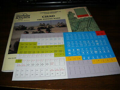 SPI: Strategy & Tactics: 144: Chad: The Toyota Wars: Unpunched • 19.99$