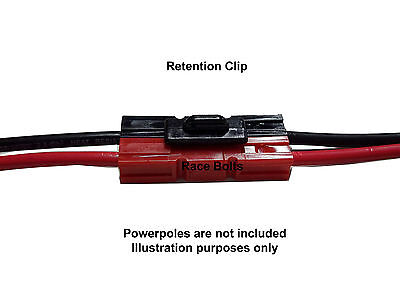 TORBERRY ANDERSON RETENTION CLIP FOR 15, 30 Or 45 AMP POWERPOLE PLUG CONNECTORS • 2.76£