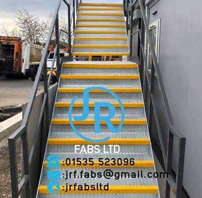 2m Steel Staircase Metal Staircase Metal Fire Escape All Sizes £800+vat • 960£