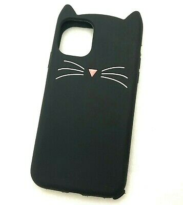 £5.59 • Buy IPhone 11 / 11 Pro / 11 Max - Soft Silicone Rubber Case Cover Cat Ear Whiskers