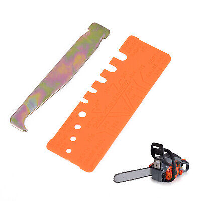 £3.18 • Buy 2pcs/Set Chainsaw Chain Gauge Bar-Groove Cleaner Accessory Yard For Depth Pitch
