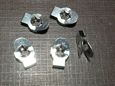 $10 • Buy 5 Pc PAL Carburetor Linkage Retainer Clips For 1/8  Rod NORS Fits Dodge Plymouth