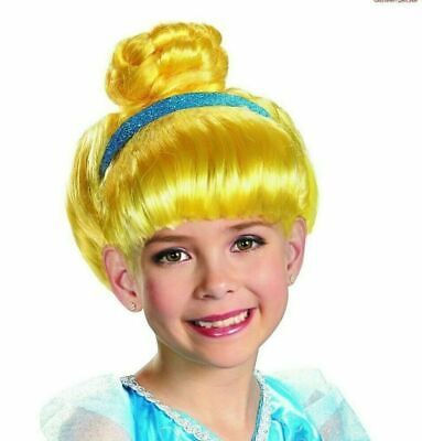 CINDERELLA Child Wig One Size Costume Dress Up Wig Halloween DISNEY Princess NEW • 3.67£