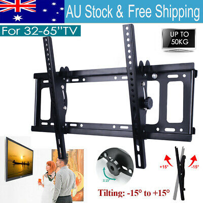 AU18.11 • Buy Universal Tilt TV Wall Mount Bracket SONY SAMSUNG LG Panasonic 32 -65 LED LCD 3D