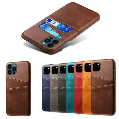 AU13.79 • Buy Case For IPhone 11 Pro Max IPhone X XS Max PU Leather With Card Holder Pockets
