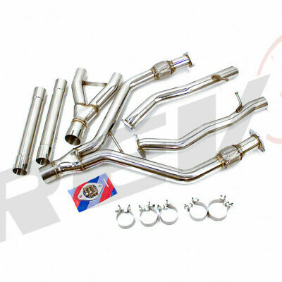 $ CDN509.51 • Buy Rev9 Fit 16-19 Q50 V6 3.0l 2.5  To 3   Y-pipe Stainless Steel Exhaust Piping Kit