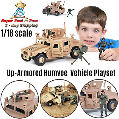 $37.77 • Buy Elite Force Military Up Armored Humvee Vehicle With Rotating Gun Turret Play Set