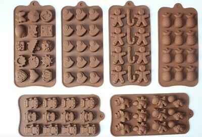 Silicone Cake Chocolate Mold  Easter Valentine Mould Wax Melt Candle Jelly Ice • 3.29£