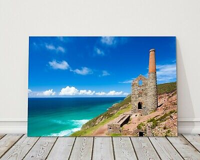 £23.95 • Buy Wheal Coates Cornwall Cluffs Mine St Agnes Cornwall Canvas Picture Print