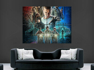 £17.99 • Buy Stranger Things Poster Tv Series Image Wall Art Picture Print Giant
