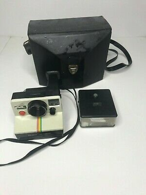 $ CDN42.22 • Buy Vintage Polaroid Land Camera With Flash And Case