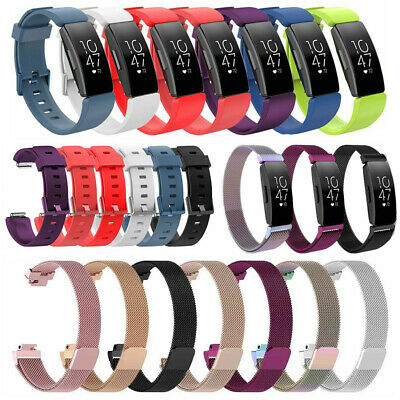 AU9.47 • Buy Replacement Silicone/Mesh Milanese Watch Band For Fitbit Inspire HR & Inspire AU