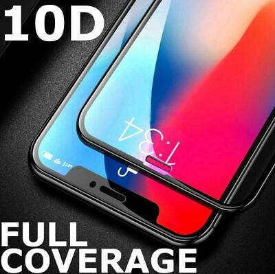 AU4.75 • Buy Tempered Glass FULL COVER Screen Protector For Apple IPhone 11 Pro X Max XS XR 8