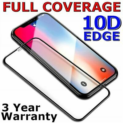 AU4.75 • Buy 10D FULL COVER Tempered Glass Screen Protector For Apple IPhone 11 Pro Max X 8 7