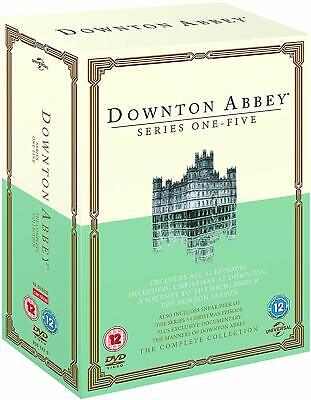 DOWNTON ABBEY - Series 1-5, Drama Movie Collection, New Complete DVD, Fun Films • 31.04£