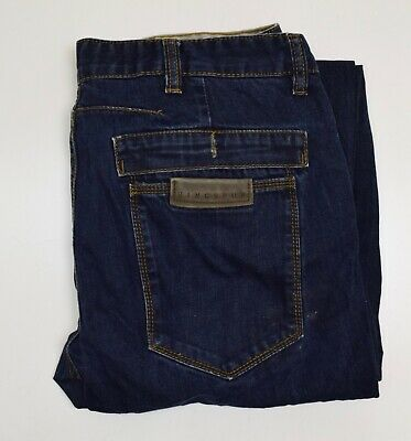 J1867 Ringspun Men's Blue Denim Jeans  W36r  L31 • 18.50£