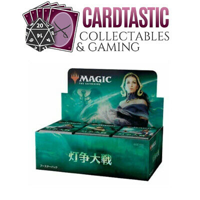AU192 • Buy Magic The Gathering TCG War Of The Spark JAPANESE Sealed Booster Box
