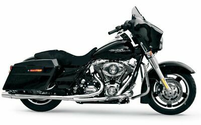 $899.95 • Buy Chrome Thunderheader 2 Into 1 Exhaust Pipe System Harley Touring + Heat Shields