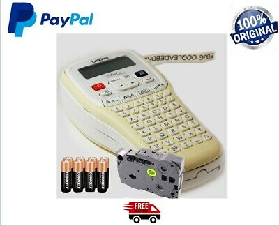 Brother-P-Touch-H101C-Handheld-Labelling-Print- Machine System + Tape + Batterie • 27.99£
