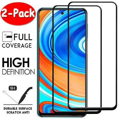 $2.89 • Buy 2X Full Tempered Glass Screen Protector For Xiaomi Redmi 8A 7A 6A Note 8 7 6 Pro