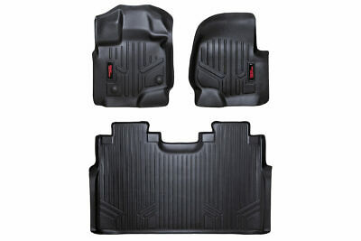 Rough Country Durable Floor Mats Fits 15-19 Ford F150 SuperCrew Bucket Seats • 159.95$
