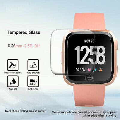 AU2.97 • Buy 1/3Pcs For Fitbit Versa 2/Lite Charge 2 3 Tempered Glass Screen Protector Cover