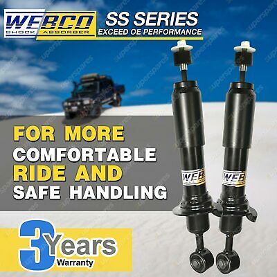 AU160.59 • Buy Rear Webco Shock Absorbers For MITSUBISHI OUTLANDER ZG ZH ZJ ZK ZL 2 2.3 2.4 3.0