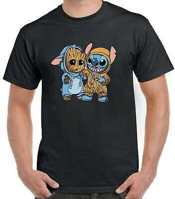 £9.99 • Buy Guardians Of The Galaxy Groot Stitch T-Shirt Marvel Gift