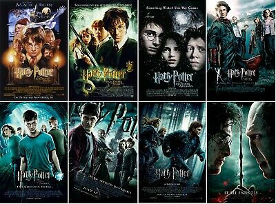 $ CDN84.76 • Buy Harry Potter Movie Poster Collection Bundle (Set Of 8) - NEW - 11x17 13x19