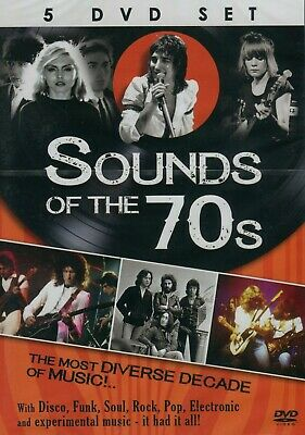 Sounds Of The 70's (5 DVD) • 32.86£