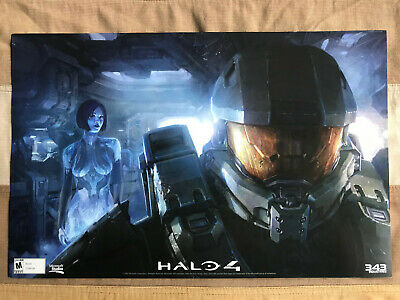 £14.62 • Buy Halo 4 Seattle Midnight Release Launch Party Official Poster 343 Microsoft