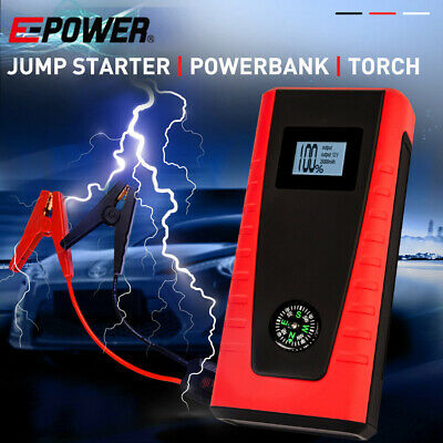 AU119 • Buy 【EXTRA10%OFF】E POWER Bank Portable Vehicle Jump Starter Car Battery Charger