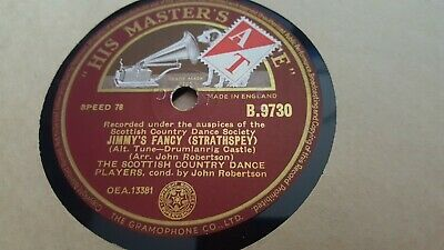 The Scottish Country Dance Players Jimmy's Fancy & New Rigged Ship Hmv B9730 • 2.99£