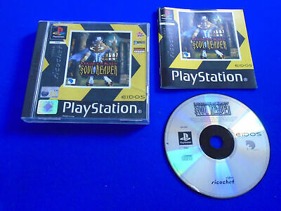 AU21.99 • Buy Ps1 LEGACY OF KAIN SOUL REAVER** Yellow Cover Playstation Game Boxed PAL Ps2 Ps3