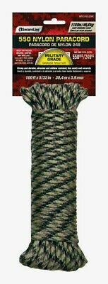 $11.62 • Buy SecureLine 50' CAMOUFLAGE Braided Nylon PARACORD Military Grade Compact 110 Lb.