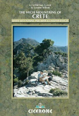 The High Mountains Of Crete: A Walking And Trekki... By Loraine Wilson Paperback • 13.99£