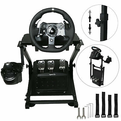 Racing Simulator Steering Wheel Stand Pro Stand For G27 G29 PS4 G920 T300RS • 51.95£