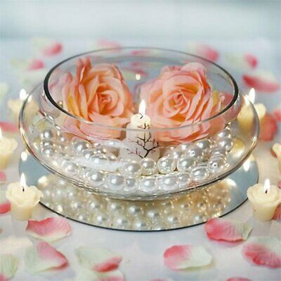 $45 • Buy BalsaCircle Floating Candle Glass Bowl Vase Centerpiece, 10  Wide