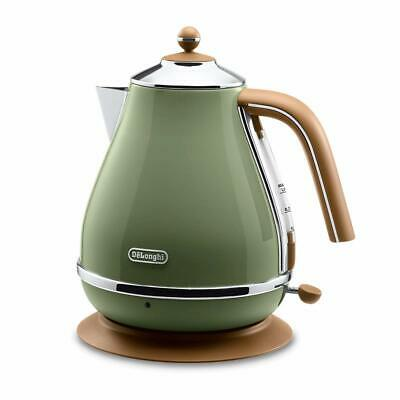 £88.77 • Buy Delonghi ICONA Vintage Collection Electric Kettle 1.0L Olive Green Japan F/S