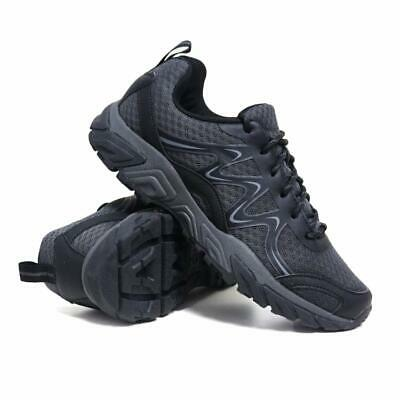 Mens Ladies Hiking Boots Walking Ankle Wide Fit Trail Trekking Trainers Shoes • 14.95£