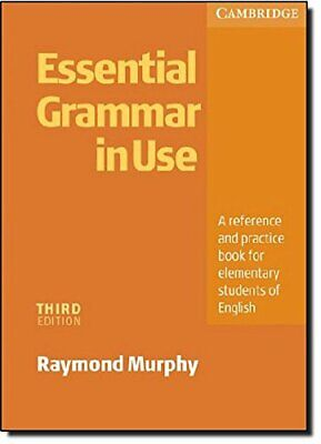 £21.99 • Buy Essential Grammar In Use Without Answers: A Self... By Murphy, Raymond Paperback