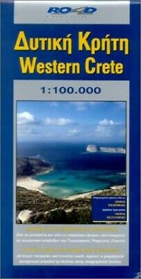 Map Of Western Crete (Maps Of Greek Islands) By Road Editions Sheet Map Book The • 9.99£