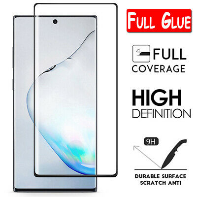 $ CDN4.98 • Buy For Samsung Galaxy Note 10 Plus 8 9 FULL COVER Tempered Glass Screen Protector
