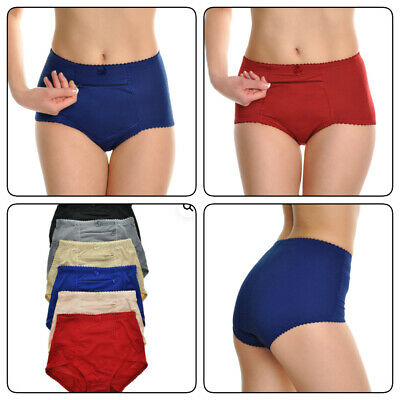 $18.99 • Buy 6 Pack Women  Underwear  Panties Cotton Classic Girdle With Zipper Pocket(s-xl)